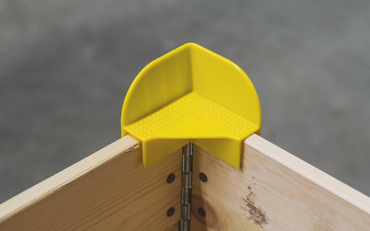 Die Stapelecken können mehrmals verwendet werden.