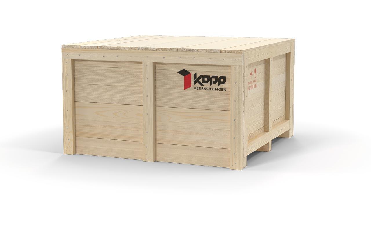 Kopp Verpackungen GmbH | Holzkisten aus Vollholz, OSB und Sperrholz