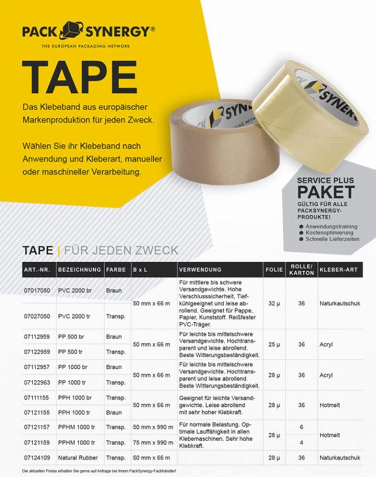 Kleband aus europäischer Markenproduktion