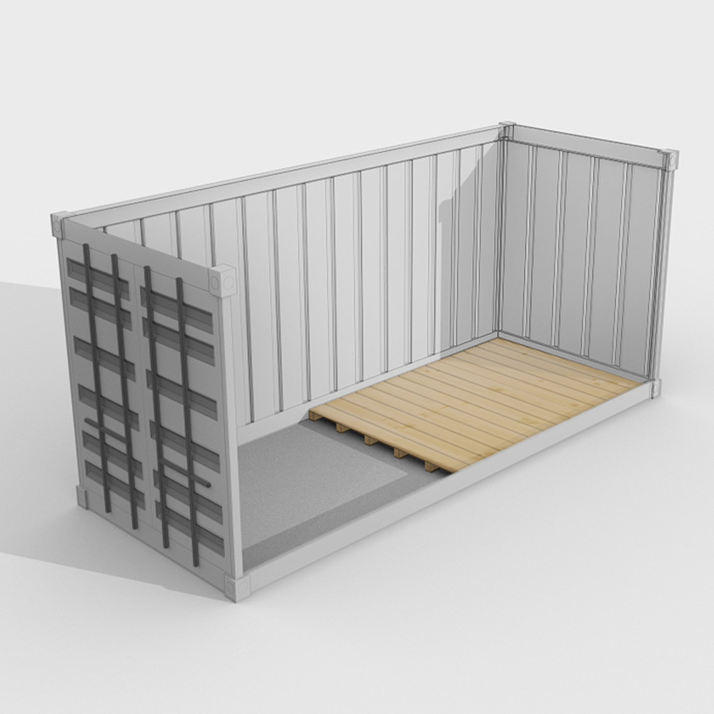 Containerboden